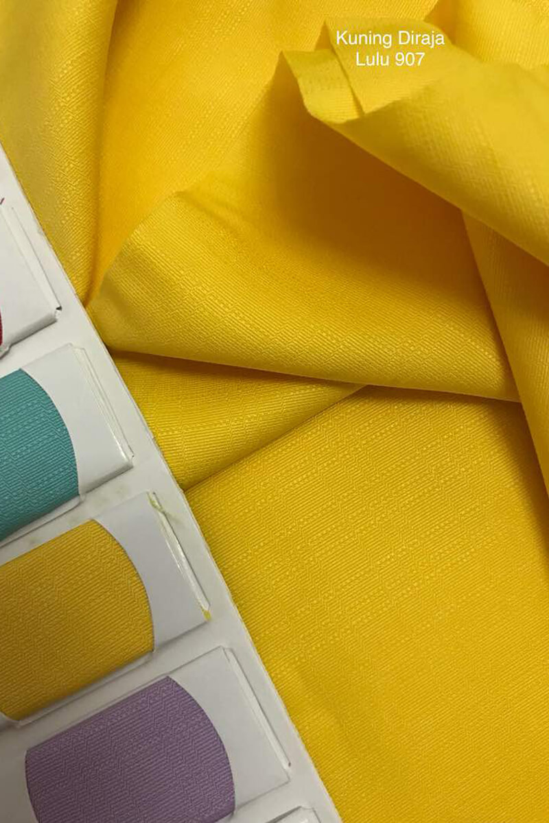 907SP Sakura Cotton Silk Kuning Diraja