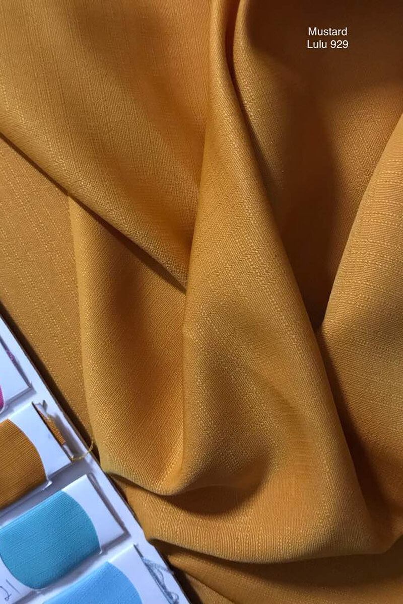 929 Sakura Cotton Silk Mustard
