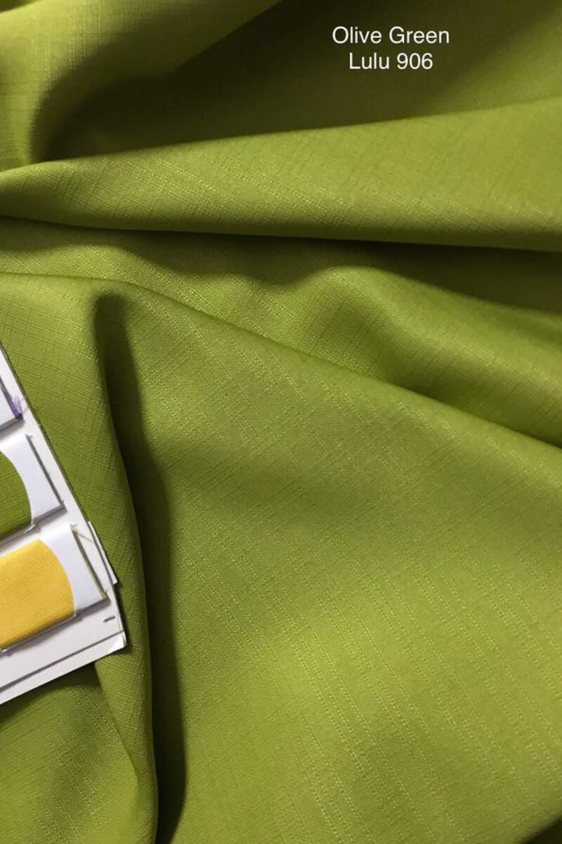906SP Sakura Cotton Silk Olive Green