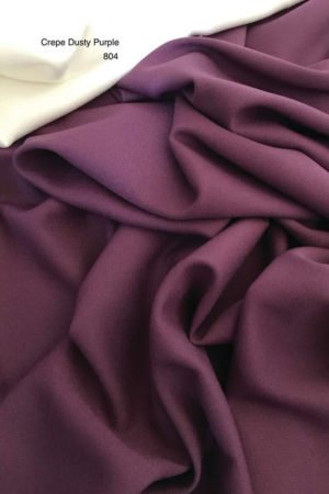 804SP Como Crepe Dusty Purple