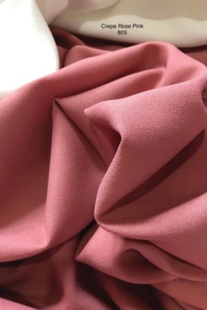 805SP Como Crepe Rose Pink