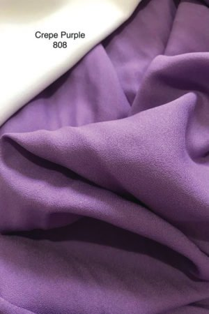 808 Como Crepe Purple