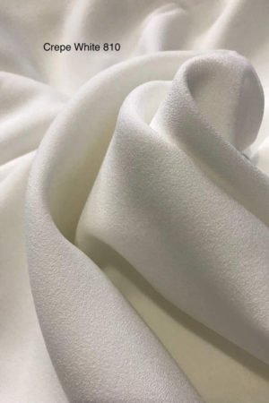 810SP Como Crepe White