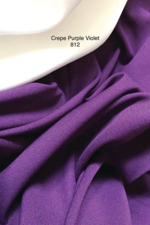 812SP Como Crepe Purple Violet