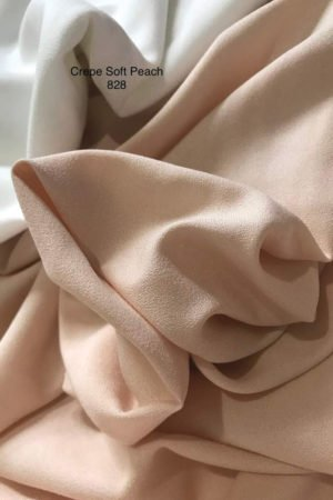 828SP Como Crepe Soft Peach