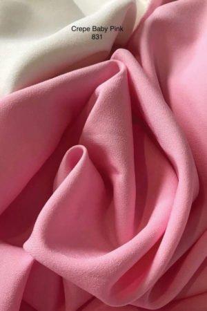 831 Como Crepe Baby Pink