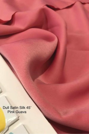 Dull Satin Pink Guava