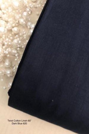 620 Linen Dark Blue