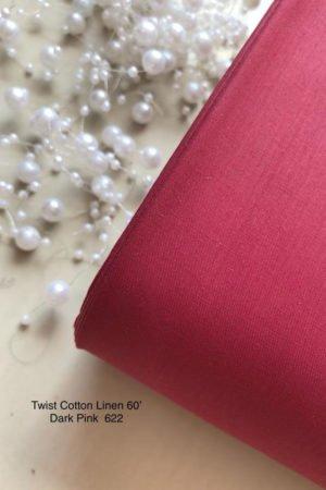 622 Linen Dark Pink