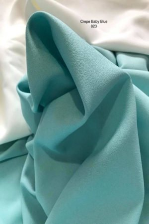 823 Como Crepe Baby Blue