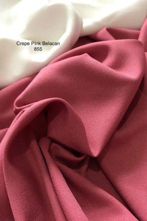855 Como Crepe Pink Belacan
