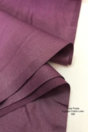 508SP Egyptian Cotton Linen Dusty Purple
