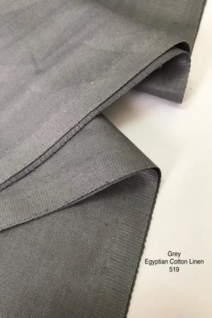 519 Egyptian Cotton Grey