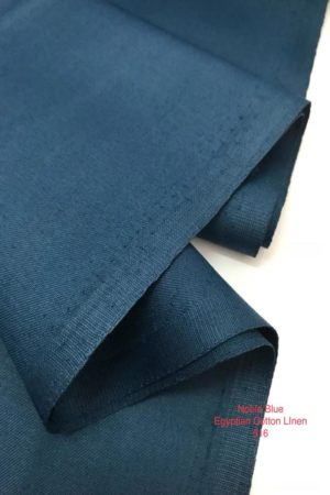 516 Egyptian Linen Cotton Noble Blue