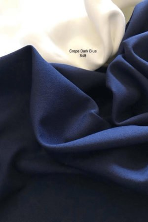 848 Como Crepe Dark Blue