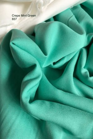 837 Como Crepe Mint Green