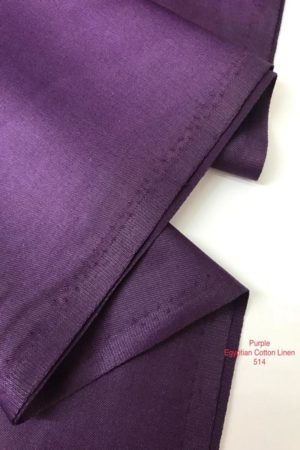 514 Egyptian Linen Cotton Purple