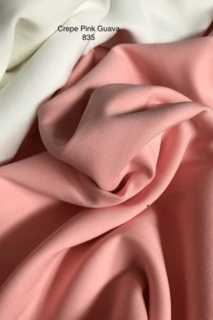 835 Como Crepe Pink Guava