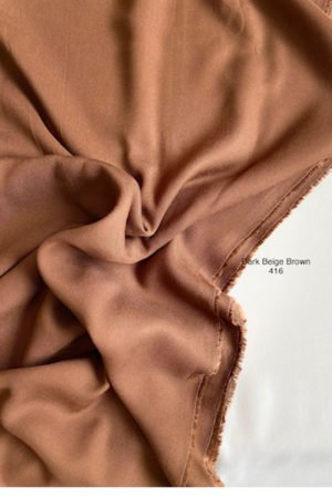 416 Soffy Cotton Dark Beige Brown