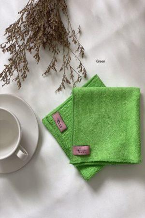 Kitchen Towel Pink Green